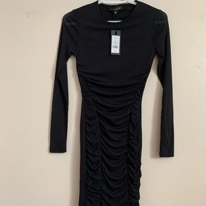 NWT Dynamite sheer sleeve dress